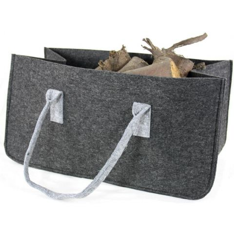 Grey Felt Log Carry & Storage Bag